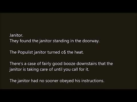 Janitor word in sentence with pronunciation - YouTube