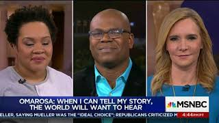 Dr. Jason Johnson on Status of Omarosa Manigault-Newman's White House Job