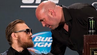 Here is why Dana White and Conor McGregor always bump heads