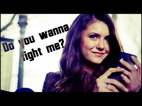 †  katherine pierce   do you wanna fight her? [8x16]