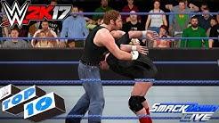 WWE 2K17 - SmackDown Live Top 10 Moments | Dec. 6, 2016