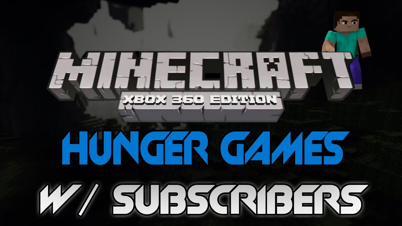 Xbox 360 Hunger Games : Minecraft xbox hunger games w subscribers