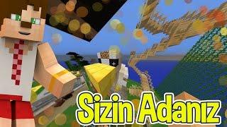 Minecraft SkyBlock Sizin Adanıza Konuk Oluyorum #2
