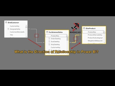 What is the Direction of Relationship in Power BI