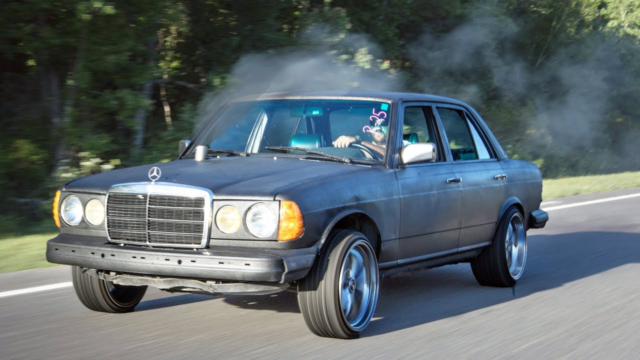 The Funky Diesel Benz Quot Opposite Of A Sleeper Quot Youtube