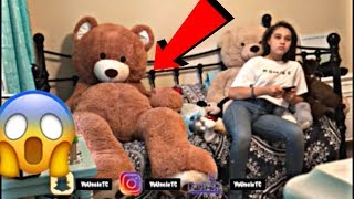 Giant Teddy Bear Scare Prank | On Sister