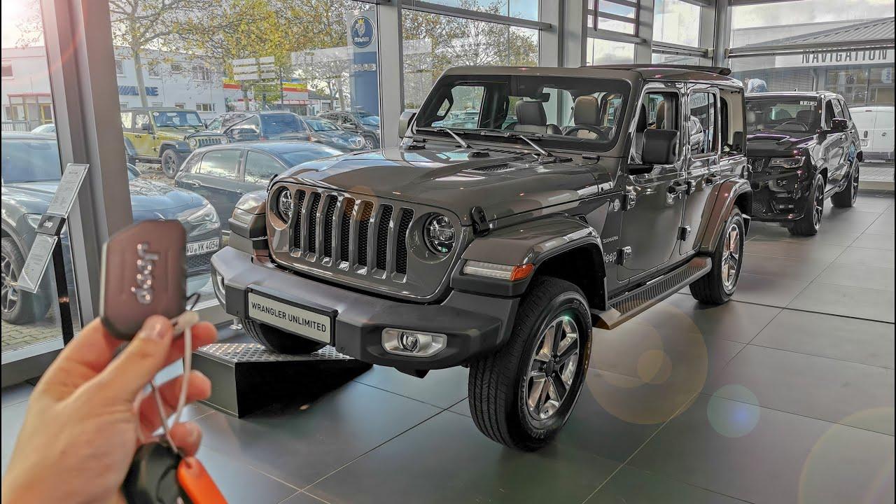2020 Jeep Wrangler Unlimited Jl Sahara 2 0 Youtube