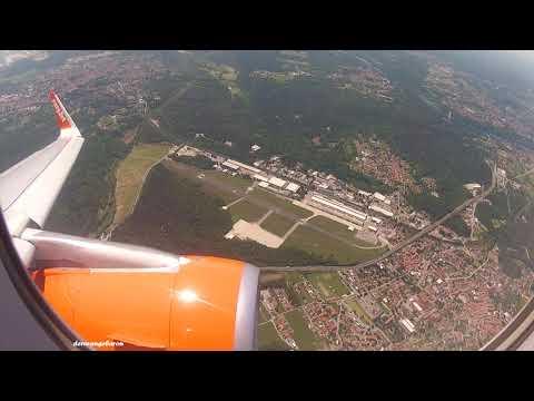 Impressive takeoff from Milan Malpensa Airport for Paris CDG