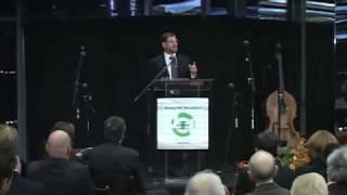 pt.1 Adam Bronfman accepts JOI Visionary Award 2008