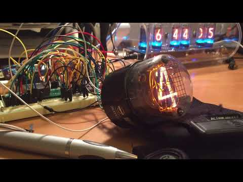 Rodan CD12 Nixie tube
