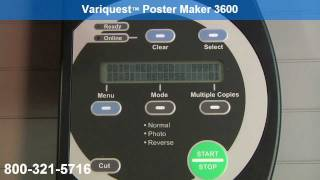 Variquest Poster Maker 3600, You