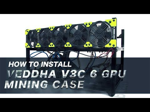 Veddha Minercase V3C Mining Case Open air frame Installation guide