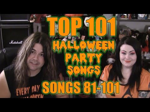 The TOP 101 SONGS FOR HALLOWEEN !!  Episode 1