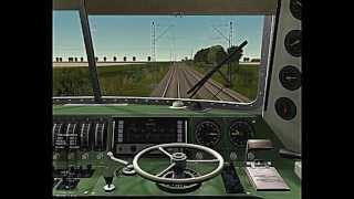 Let´s Play - Train Simulator 2001  -  DB BR 103 184 mit InterCity