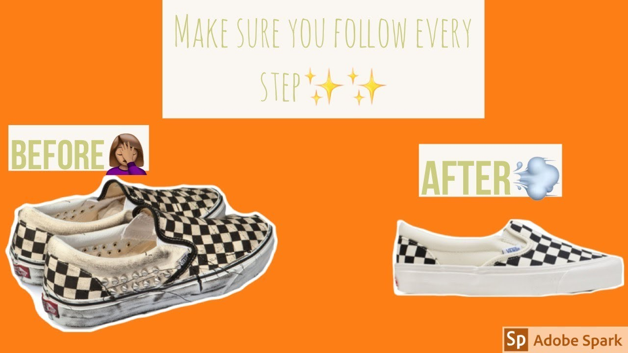 Deep cleaning CHECKERED slip on Vans</p>                     </div> 		  <!--bof Product URL --> 										<!--eof Product URL --> 					<!--bof Quantity Discounts table --> 											<!--eof Quantity Discounts table --> 				</div> 				                       			</dd> 						<dt class=