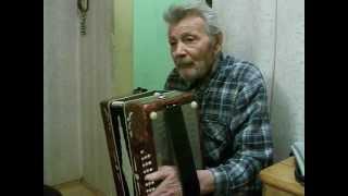 Ветеран играет на гармони - часть 1