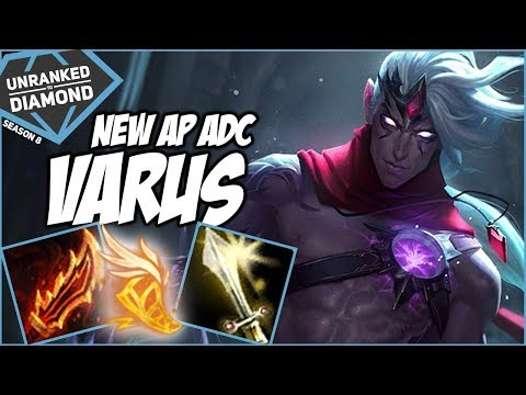 NEW AP VARUS ADC?!? - Unranked to Diamond - Ep. 95 | League of Legends