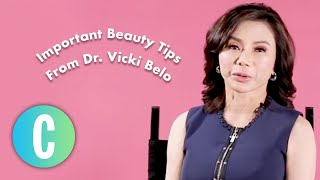 Important Beauty Tips From Dr. Vicki Belo