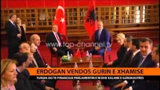 Erdogan vendos gurin e parë të xhamisë - Top Channel Al