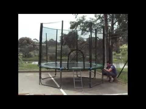 Enjoy Your 10-foot Springless Trampoline From Premier Trampolines Assembly Instructions