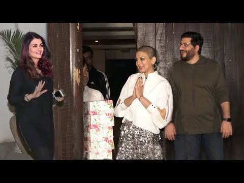 Aishwarya Rai's Sweet Gesture goes to meet Sonali Bendre at her House to know about her Health
