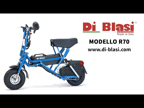 ELECTRIC MOPED R 70 - Revolutionary electric folding moped