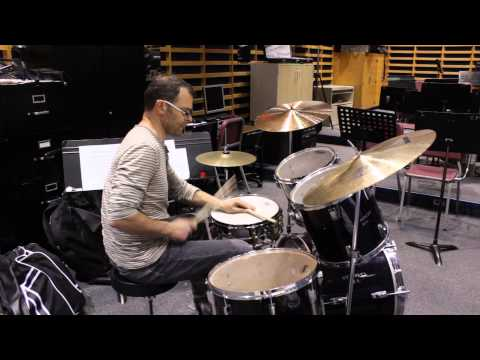 Mark Kelso with Impact Percussion