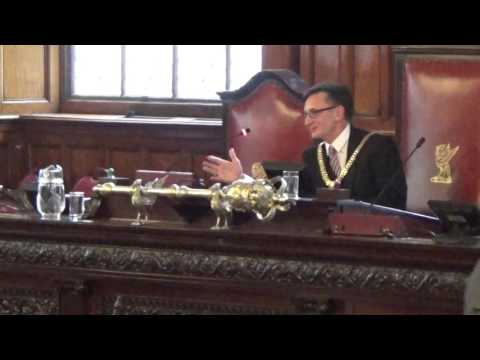 Liverpool City Council (Annual Meeting) 25th May 2016 Election of Lord Mayor Part 1 of 2