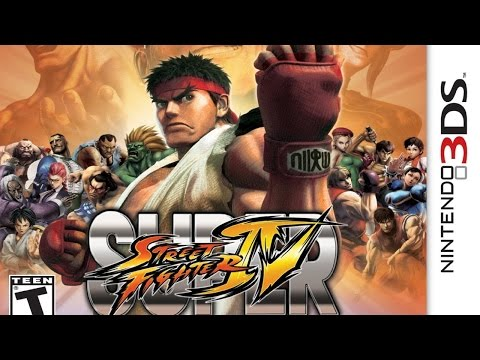 Super Street Fighter IV 3D Gameplay {Nintendo 3DS} {60 FPS} {1080p}