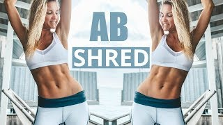Ab Shred Workout - BEST SIX PACK EXERCISES | Rebecca Louise