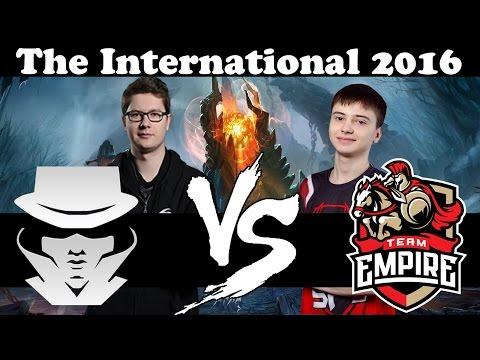 Team Secret VS Team Empire - Europe Qualifiers - TI6 - Dota 2