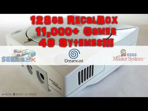 128gb RecalBox Pi 3 Image - 11,000+ Games