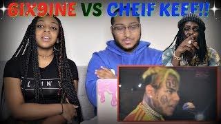 "Ricegum ""Reacting To 6ix9ine VS. Chief Keef Beef"" REACTION!!!"