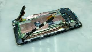 Ремонт телефона в США. Я В ШОКЕ.Кто так делает Замена дисплея HTC ONE M7 801e