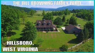 Teaser - Bill Browning Family Farm - Hillsboro, West Virginia - Drone Ohio