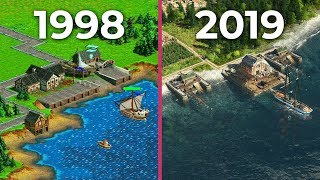 The Evolution of Anno – All Anno games from 1998 to 2019 | History Video