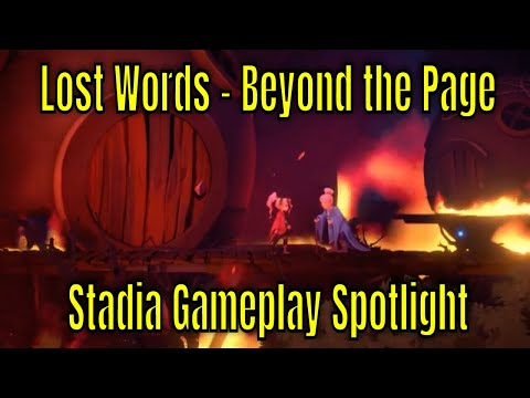 Lost Words - Beyond the Page - Stadia Gameplay Spotlight |