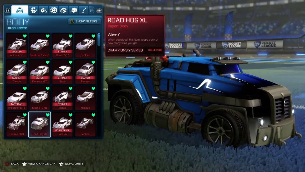 All Import Cars In Rocket League Showcase Youtube