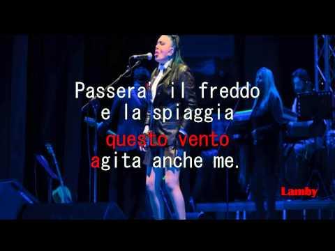 Loredana Bertè il mare d'inverno karaoke