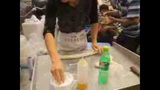 La Mien Pulled Nodle hand made China Street food guangzhou Thumbnail