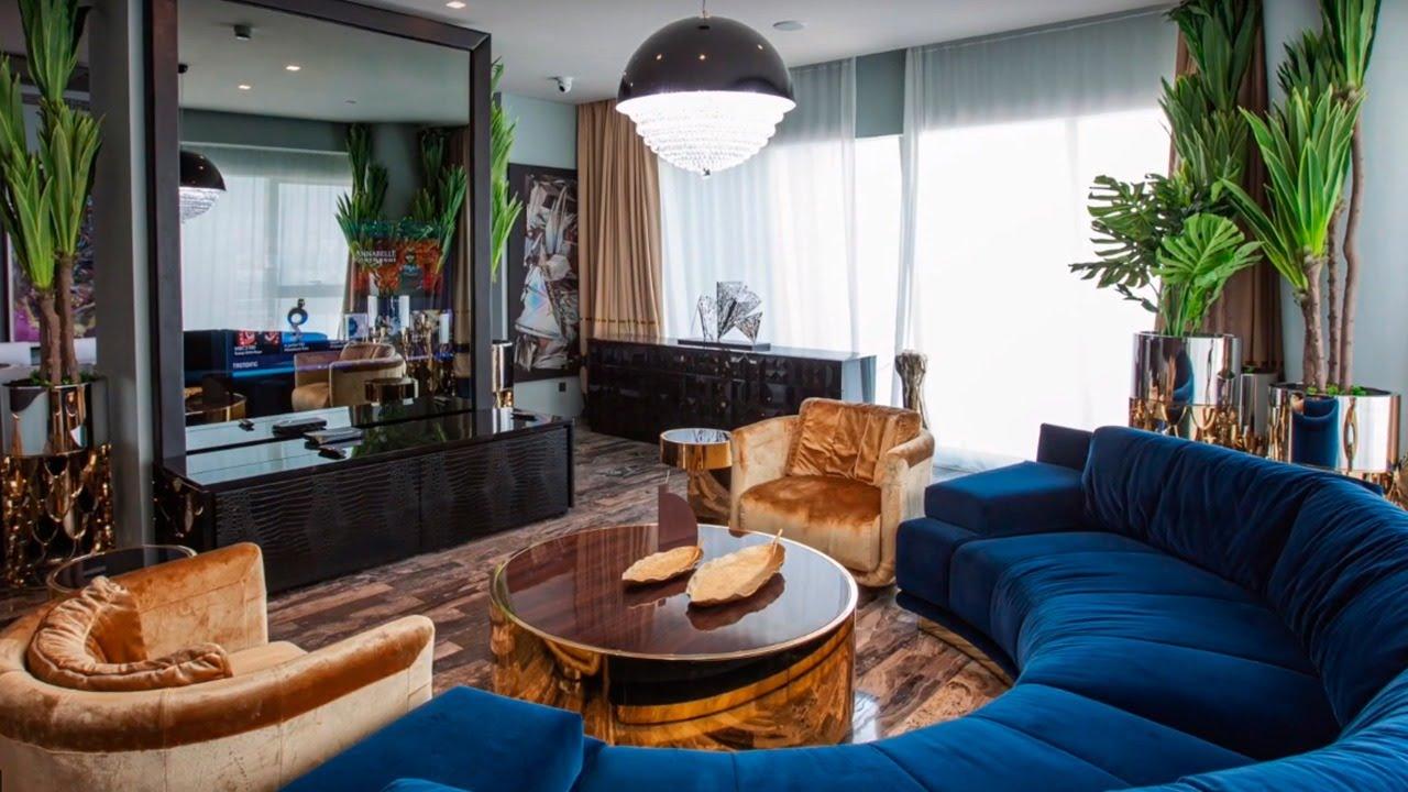Modern Apartment Design in Dubai by Luxury Antonovich Design