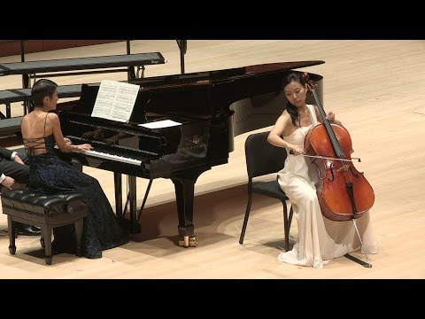Élégie Op. 24, Gabriel Fauré for cello and piano; cello: Coco Hu, piano: Sijie Ling
