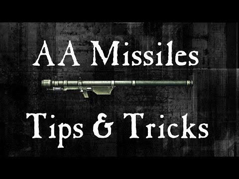 Battlefield 4 - How the AA Missiles work - Stinger, IGLA & HVM-II