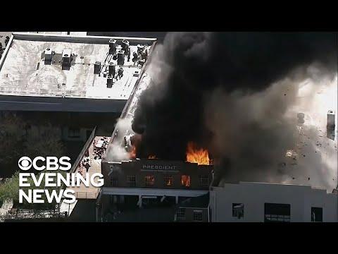 More than a dozen injured in Durham, North Carolina, gas explosion