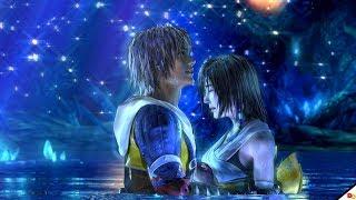 Final Fantasy X HD Remaster - Yuna and Tidus Kiss, Lake Macalania