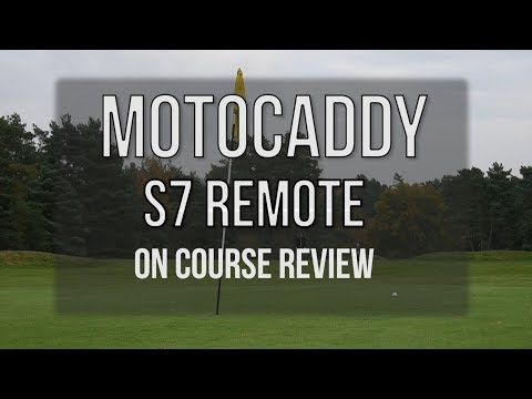 Motocaddy S7 Remote On Course Review: One Man and his Camera.