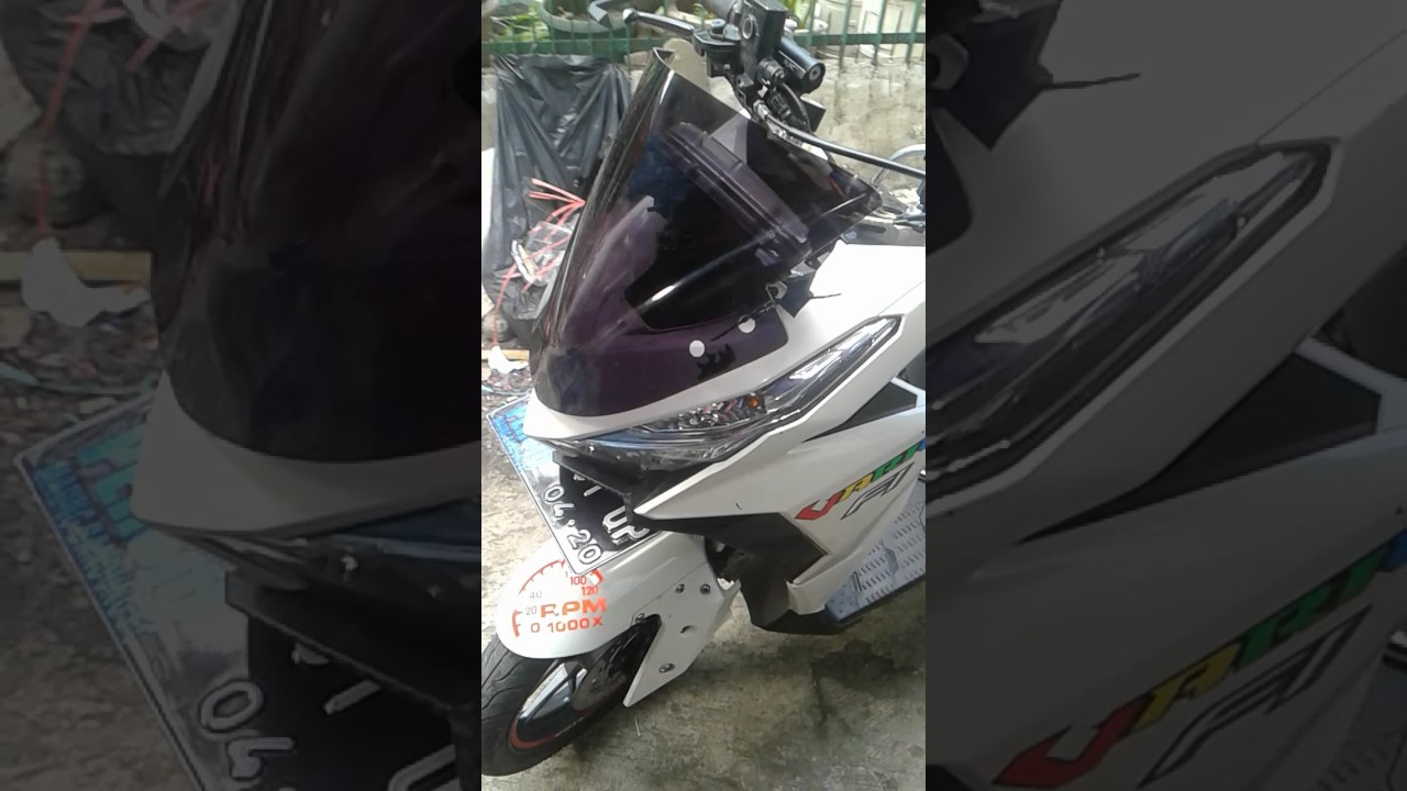 Vario 150 Visor Ninja YouTube