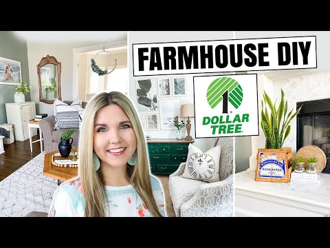 Farmhouse Dollar Tree DIY - High End Dollar Tree Home Decor