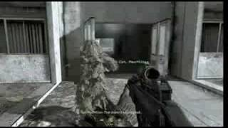 Be nice to animals... in cod4