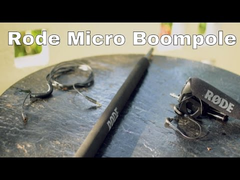 b1720bf51d58 Rode Micro Boom Pole - Review - YouTube